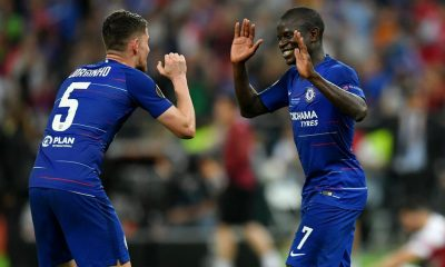 Both Jorginho and Kante have been rumoured to be on their way out