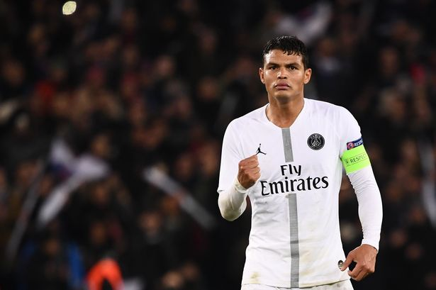 Thiago Silva led PSG to the UCL final in 2020.