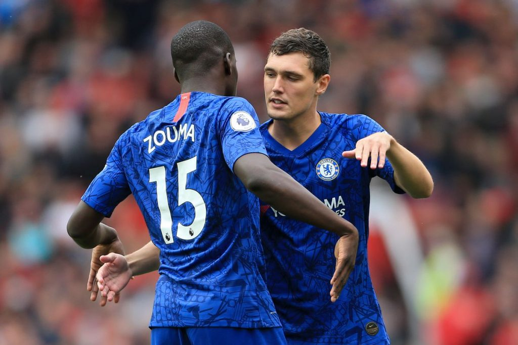 Andreas Christensen put in a stellar performance for Chelsea against Manchester United in a 0-0 draw.