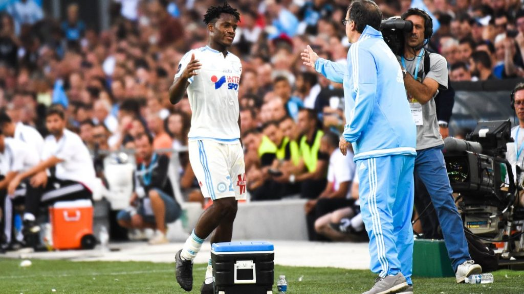 Batshuayi and Bielsa worked together at Marseille