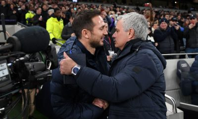 Lampard and Mourinho are set to go head to head once again