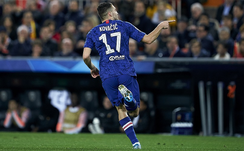 Frank Lampard was full of praise for Chelsea star Mateo Kovacic