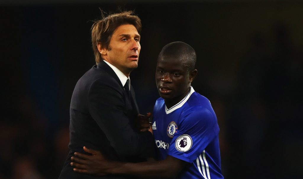 Conte is keen to reunite with Kante at Inter Milan