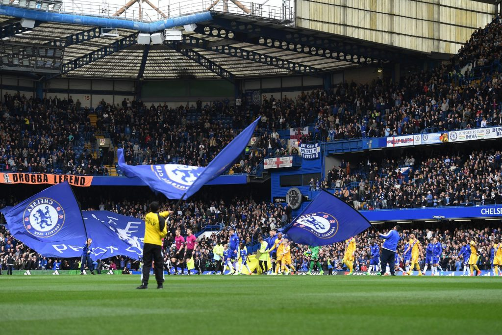 Stamford Bridge has not seen fans since 8 March 2020
