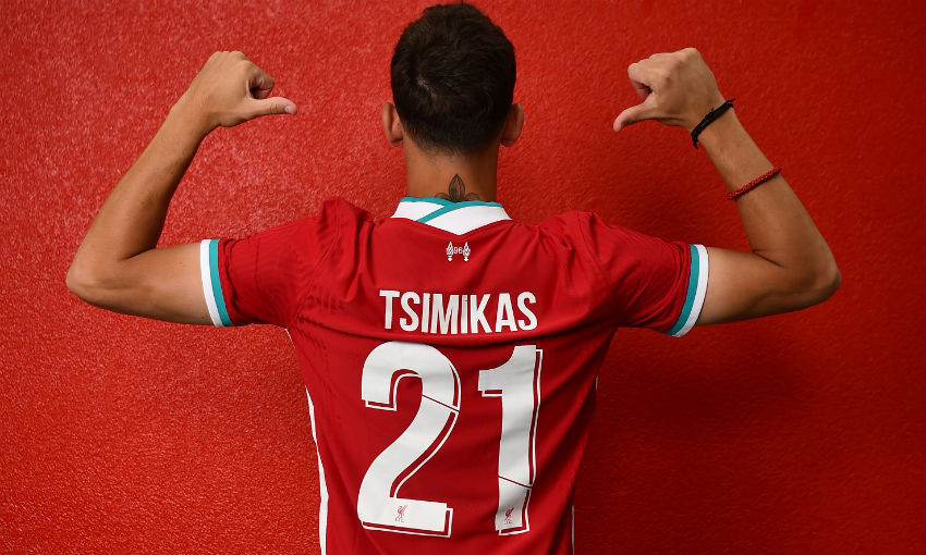 L;eicester City target Konstantinos Tsimikas has joined Liverpool
