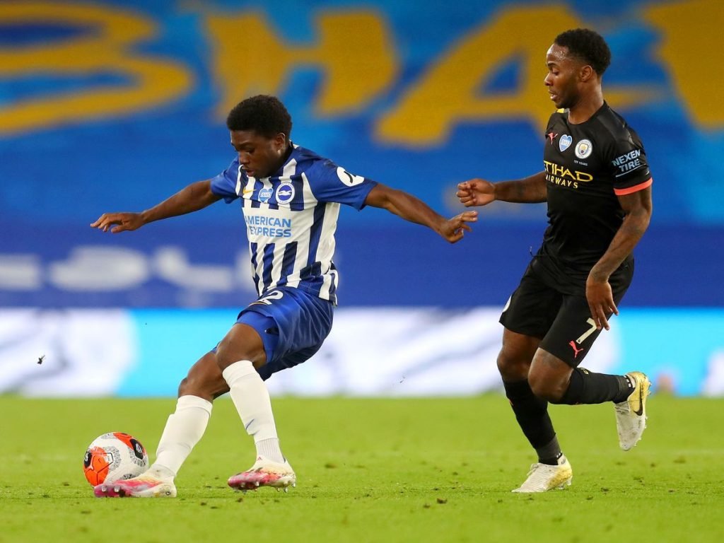Tariq Lamptey joined Brighton from Chelsea last January