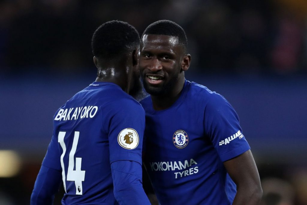 Antonio Rudiger (R) has started in just 1 Premier League game this season for Chelsea. (GETTY Images)