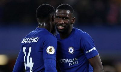 Antonio Rudiger is not in Frank Lampard's first team plans at Chelsea