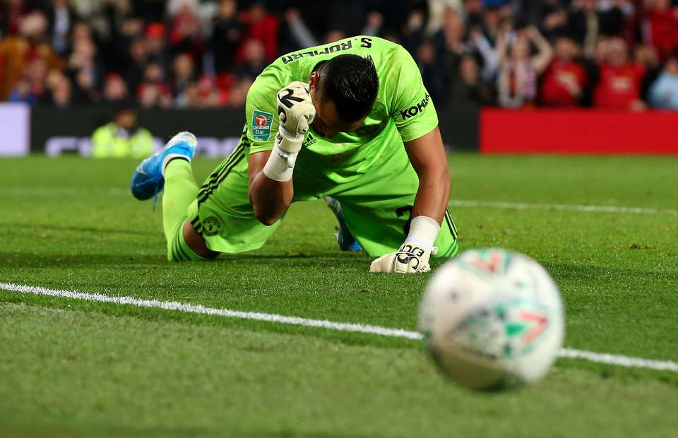 Chelsea are keeping an eye on Manchester United star Sergio Romero.