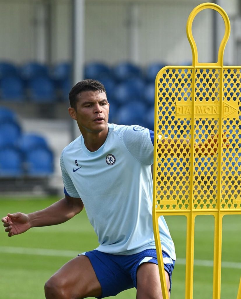 Thiago Silva is fit to face Burnley