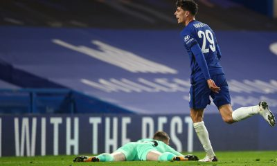 Kai Havertz was the hat-trick hero for Chelsea in the Carabao Cup