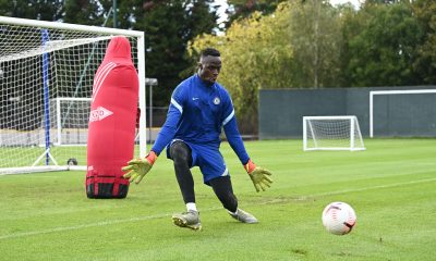 Chelsea manager Frank Lampard has named Edouard Mendy ashis number one