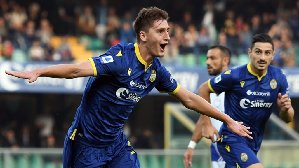 Marash Kumbulla impressed in his debut Serie A campaign (Getty Images)