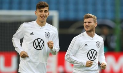 Timo Werner and Kai Havertz could soon be teaming up together at Chelsea