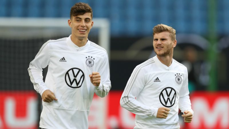 Kai Havertz and Timo Werner share a great relationship on and off the field. (GETTY Images)