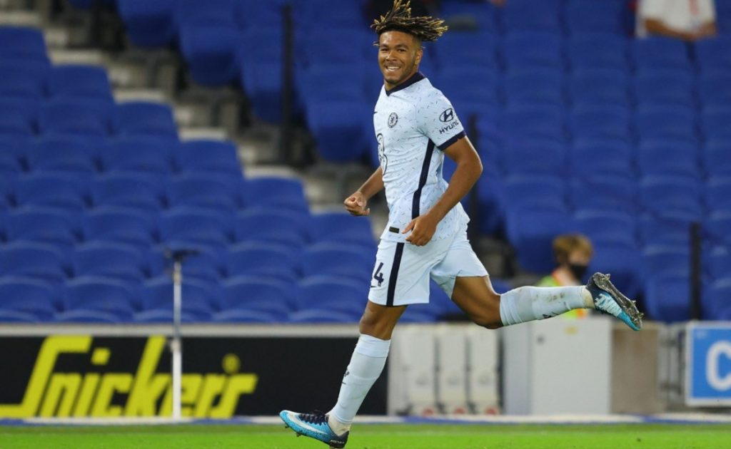 Chelsea new boy Ben Chilwell has been pleasantly surprised by his young teammate Reece James.