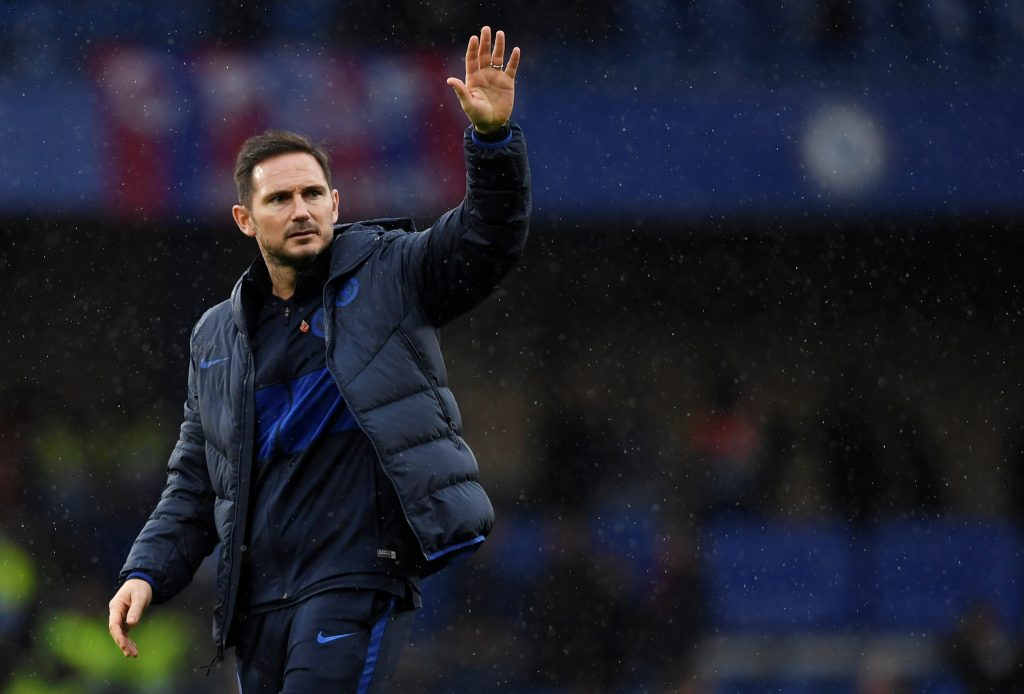 Frank Lampard has urged his Chelsea stars to not get carried away despite their good form
