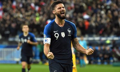 Didier Deschamps has urged Chelsea star Olivier Giroud to play more in order to be in contention for next summer's Euros.