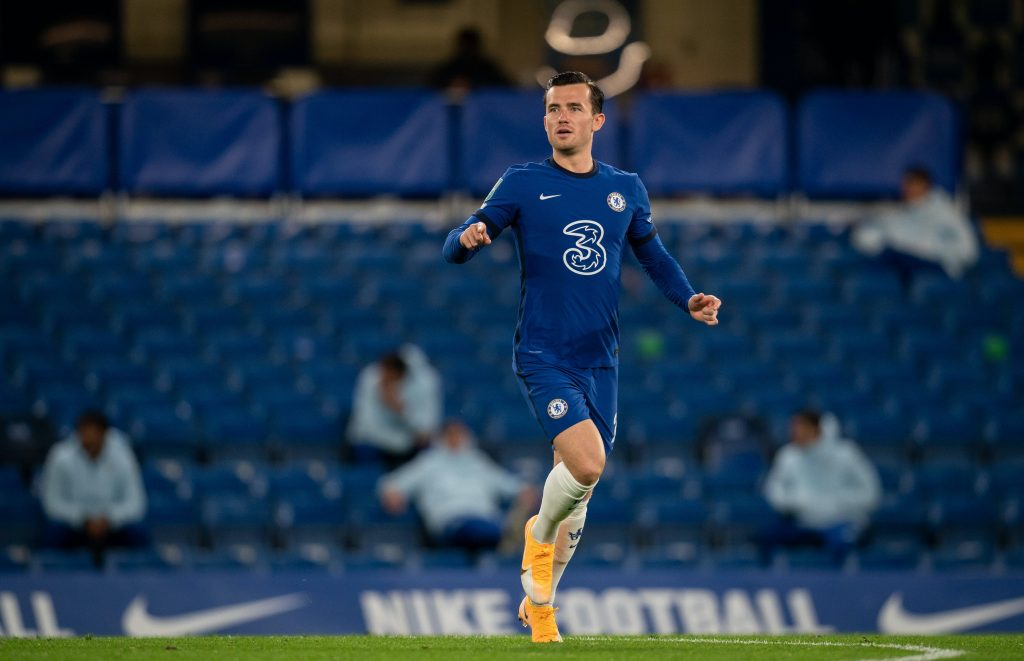 Ben Chilwell is an injury worry for Chelsea