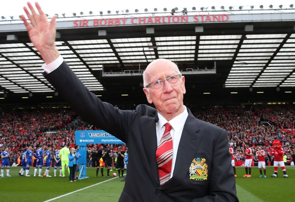 Sir Bobby Charlton too has been diagnosed with dementia