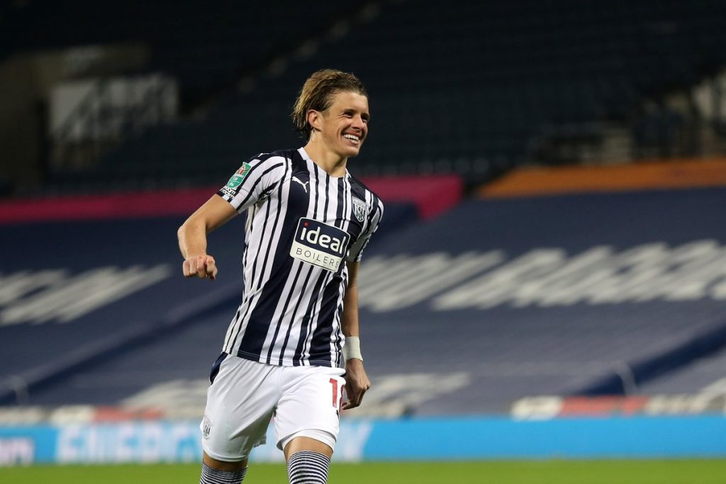 Chelsea loanee Conor Gallagher is impressing at WestBromwich Albion