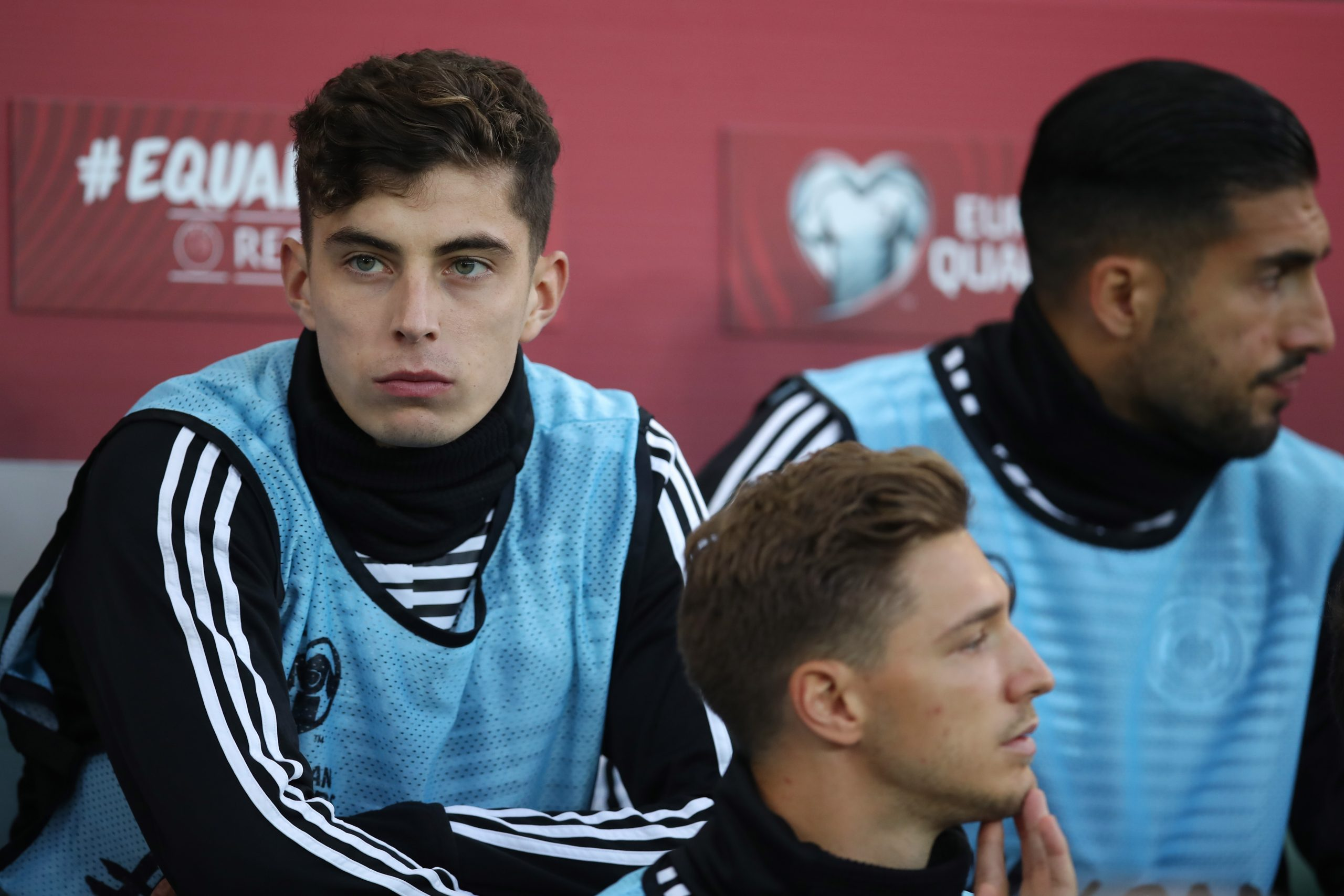 Kai Havertz is available for selection against Spurs, but Paul Merson believes Lampard should not start him. (GETTY Images)