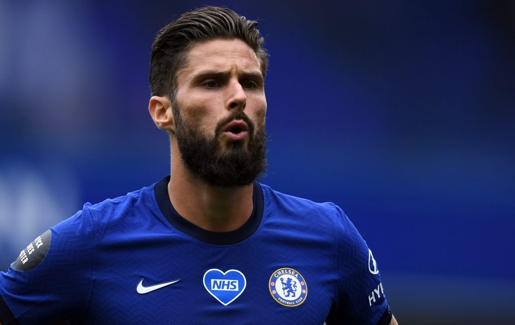 Olivier Giroud has not started in the Premier League for Chelsea this season. (GETTY Images)