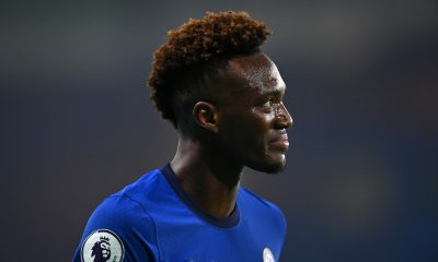 Chelsea striker Tammy Abraham has been asked to 'step up' by former Blues forward Jimmy Hasselbaink after a dull performance against Spurs on Sunday. (GETTY Images)