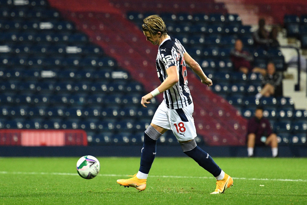 Gallagher was on loan to West Brom last season.