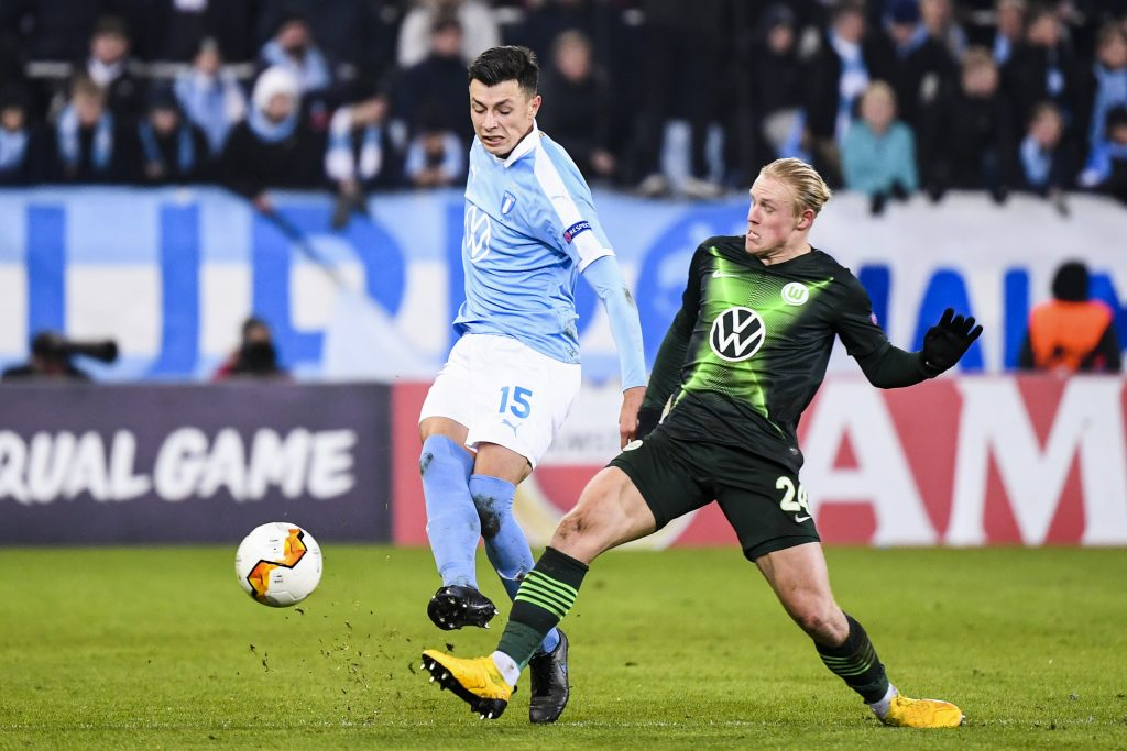 Ahmedhodzic plays for Malmo of Sweden