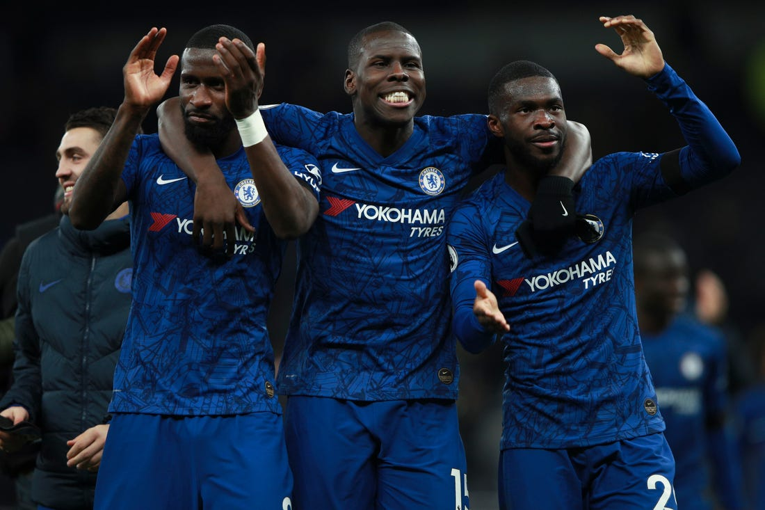 Chelsea are willing to loan out Antonio Rudiger (left) and Fikayo Tomori (right)