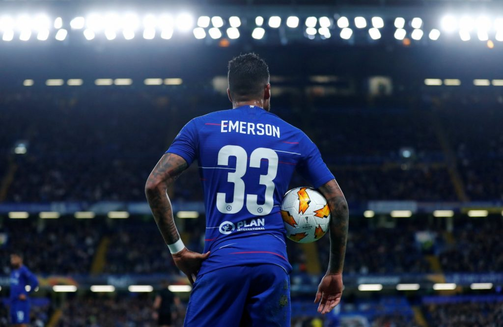 Chelsea have rejected a loan offer from West Ham United for Emerson Palmieri.