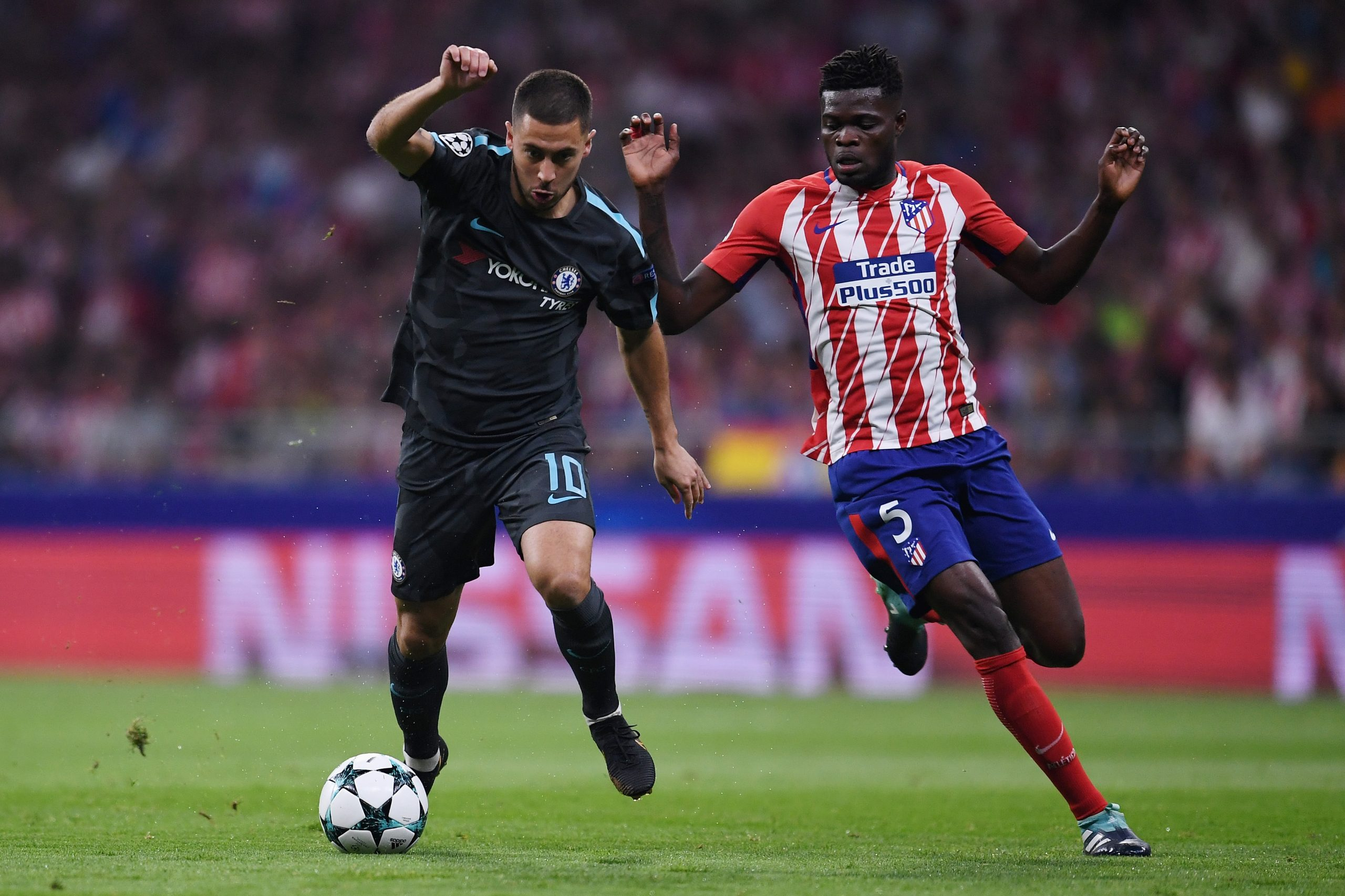 Chelsea lost out on Thomas Partey to Arsenal in the summer transfer window. (GETTY Images)