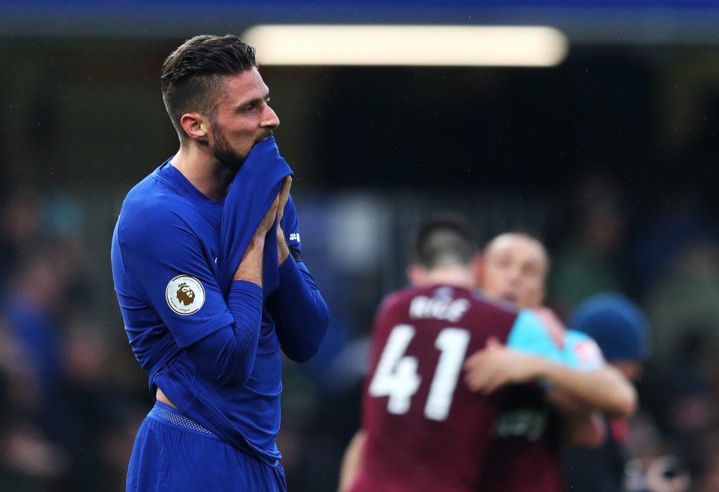Olivier Giroud has scored 9 goals this season for Chelsea as he keeps getting linked with a transfer away from the club.