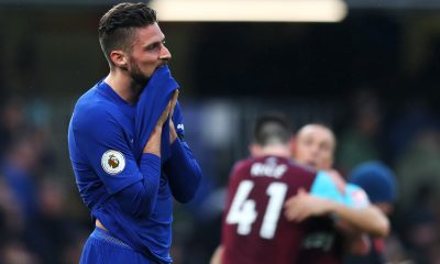 West Ham United are interested in signing Chelsea striker Olivier Giroud in January. (GETTY Images)