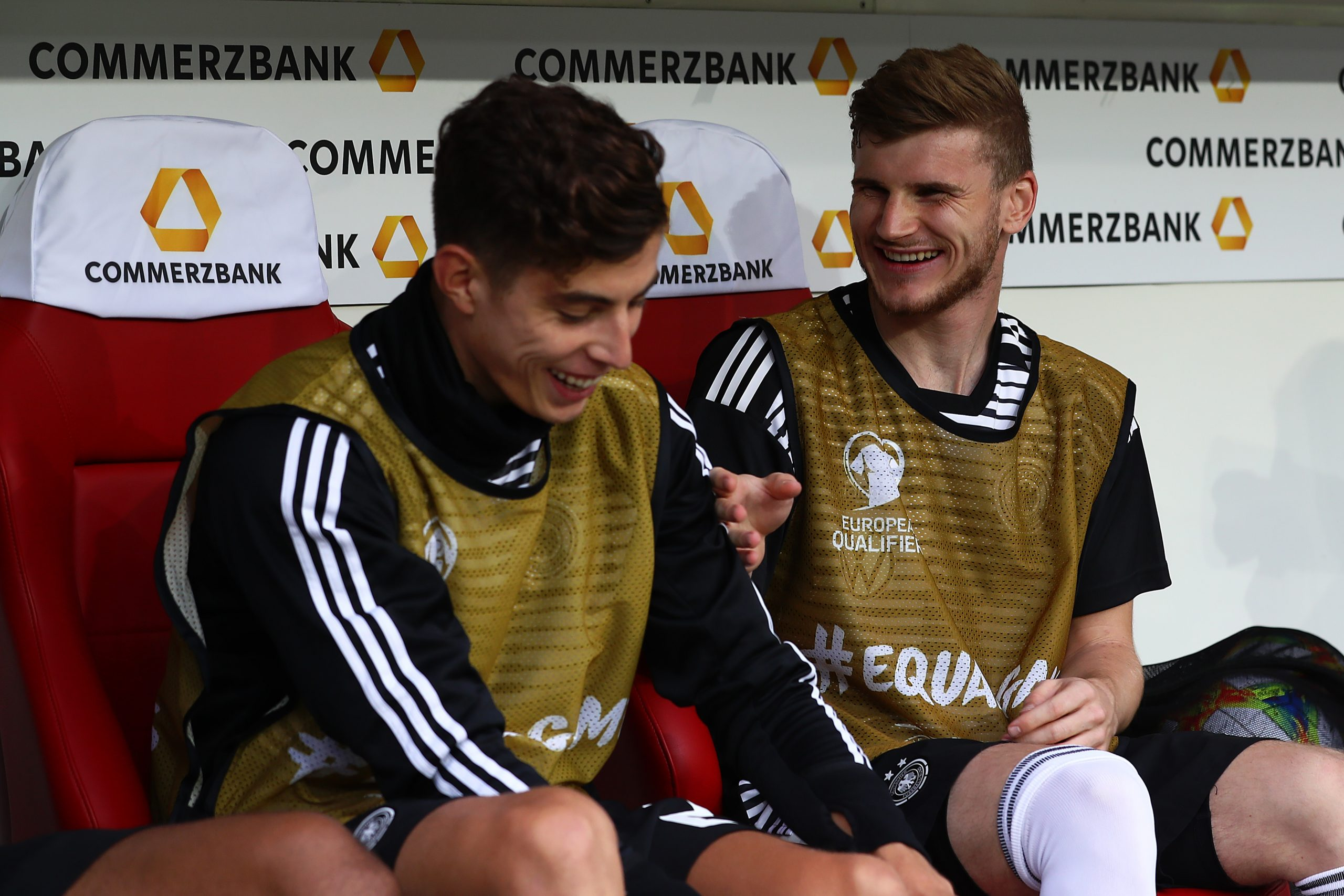 Kai Havertz revealed that international teammate Timo Werner texted him everyday to agree a deal with Chelsea. (GETTY Images)