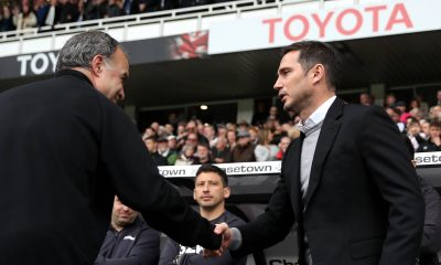 "Frank Lampard says his relationship with Marcelo Bielsa is ""normal"". (GETTY Images)"