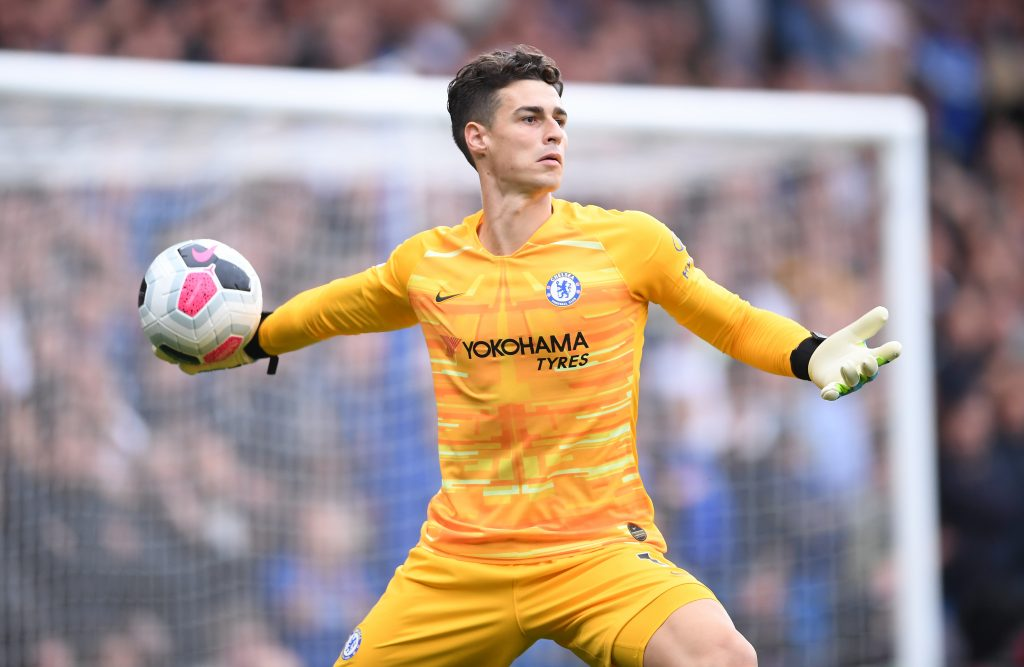 Frank Lampard has admitted that Chelsea are under no pressure to sell Kepa Arrizabalaga.