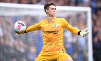 Kepa Arrizabalaga in action for Chelsea. (GETTY Images)