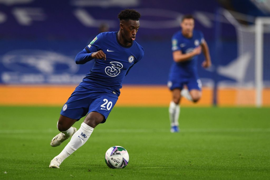 Frank Lampard reveals that it was not an easy decision to bench Callum Hudson-Odoi against Tottenham Hotspur this weekend. (GETTY Images)