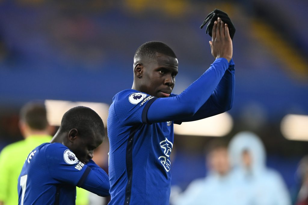 Kurt Zouma endured a disappointing game (GETTY Images)