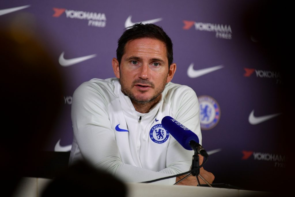 Frank Lampard disagrees with Brendan Rodgers' assessment of the Chelsea job