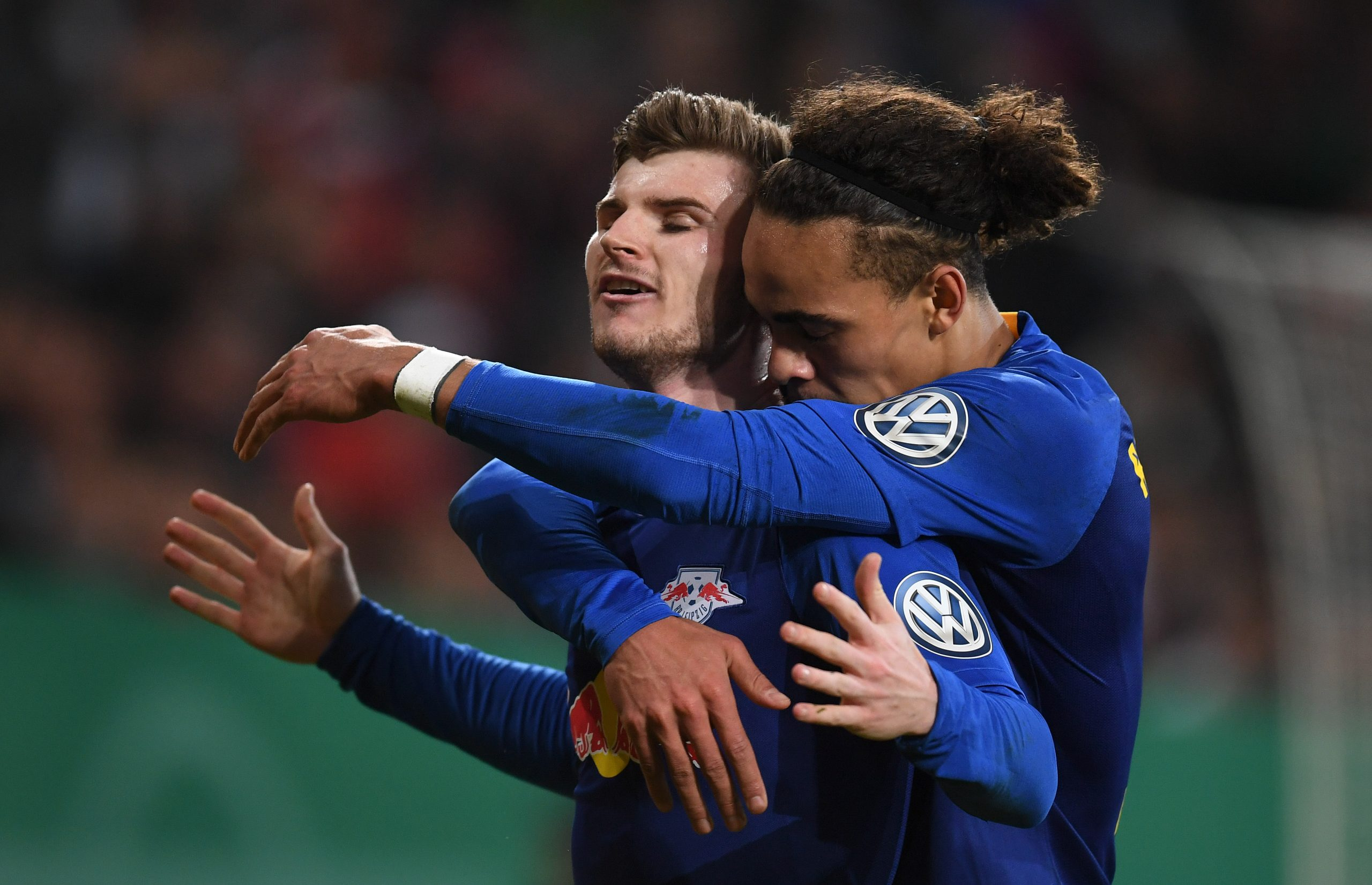 Yussuf Poulsen can get the best out of Chelsea striker Timo Werner, says Tony Cascarino.