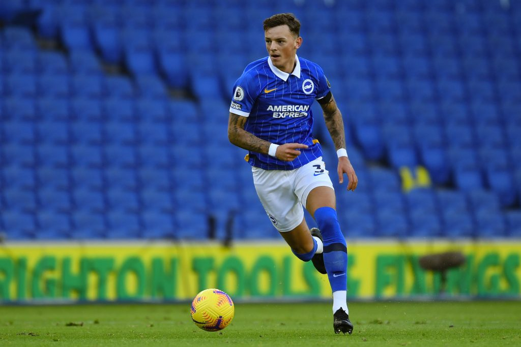 Chelsea are one of the clubs interested in signing Ben White. (GETTY Images)