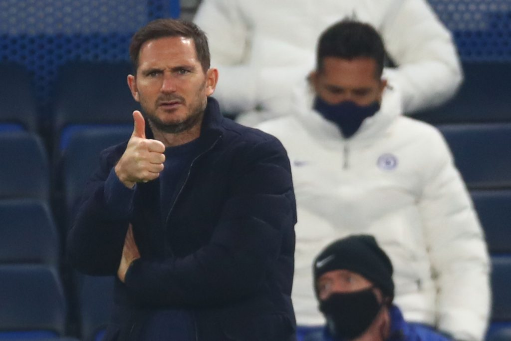 uncertainty surrounding the future of  Chelsea boss Frank Lampard is impacting the club's pursuit of Declan Rice.