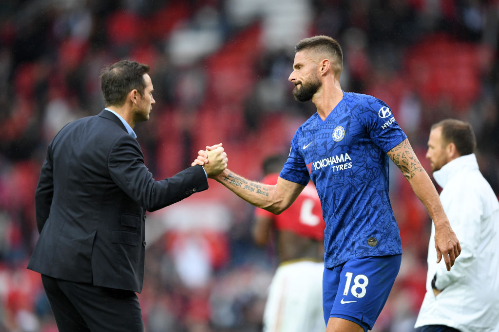 Olivier Giroud has been immaculate for Chelsea in December. (GETTY Images)