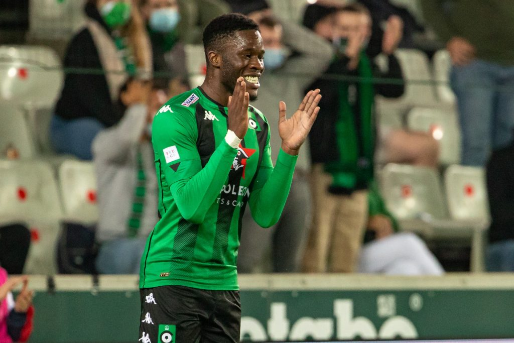 Ike Ugbo is currently on loan at Cercle Brugge (Getty Images)