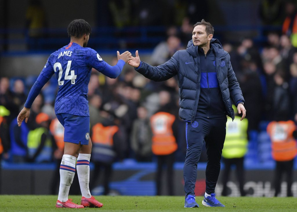 Chelsea manager Frank Lampard believes he holds the key that can unlock his side's attack.