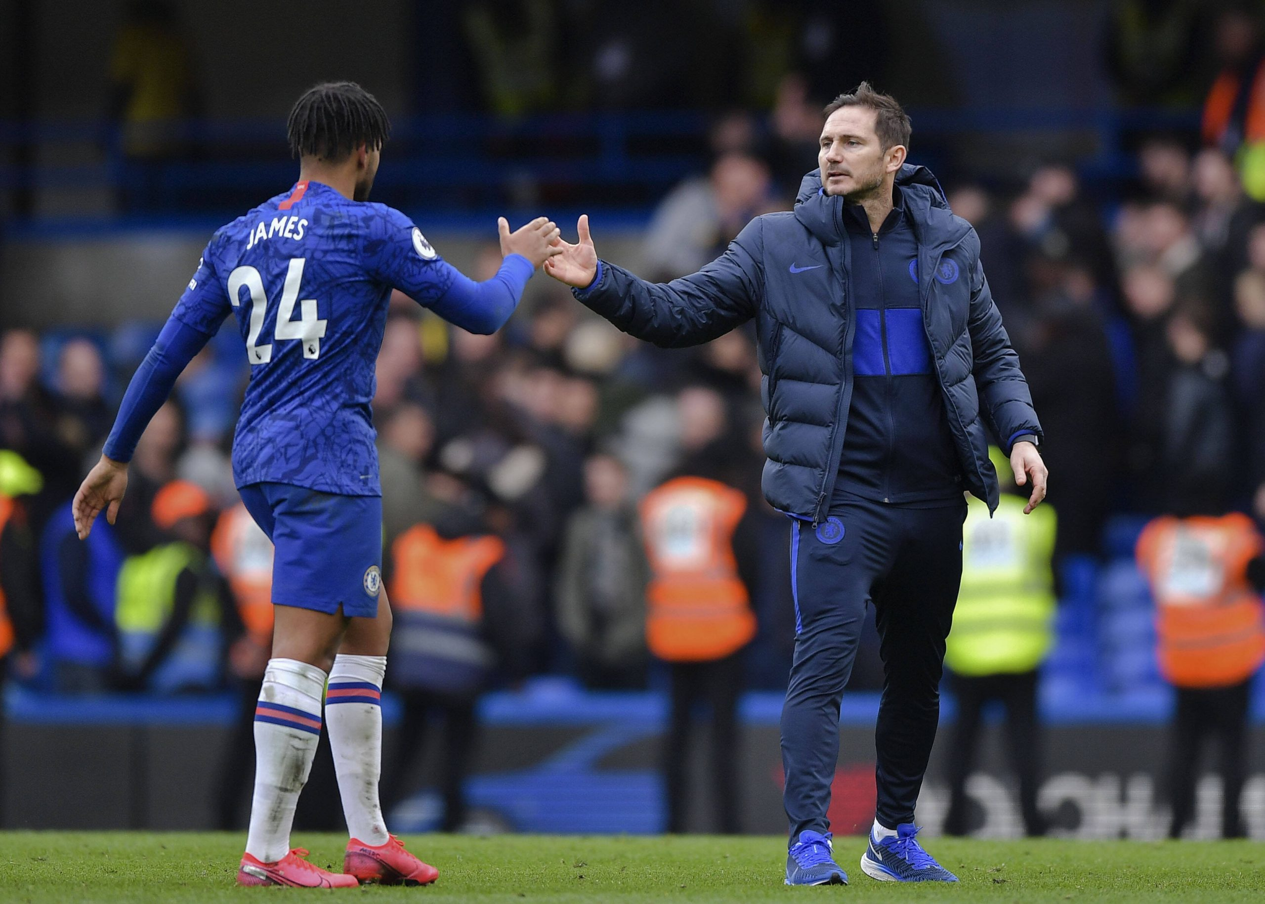Reece James came to the defence of manager Frank Lampard after disastrous draw against Aston Villa. (GETTY Images)