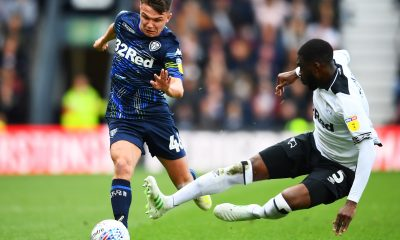 Fikayo Tomori against Leeds United when he played for Derby County under Frank Lampard. (GETTY Images)